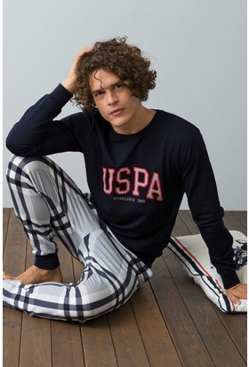 U.S. Polo Assn. Erkek 17542 Pijama Lacivert