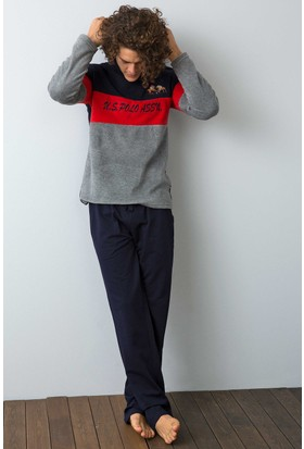U.S. Polo Assn. Erkek 17544 Pijama Lacivert