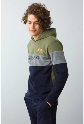 U.S. Polo Assn. Erkek 17544 Pijama Yeşil