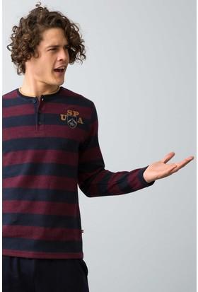 U.S. Polo Assn. Erkek 17546 Pijama Kırmızı