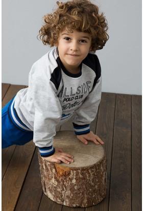 U.S. Polo Assn. Erkek Çocuk US120-1 Pijama Gri