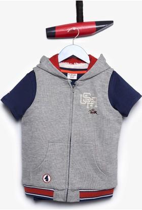 U.S. Polo Assn. Erkek Çocuk Jenskids Sweatshirt Gri