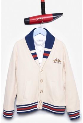 U.S. Polo Assn. Erkek Çocuk Nugo Sweatshirt Beyaz