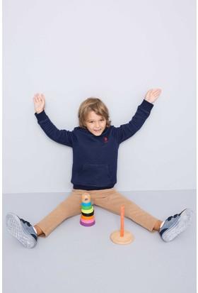 U.S. Polo Assn. Erkek Çocuk Yazok Sweatshirt Lacivert
