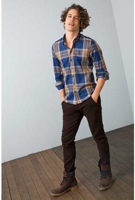 U.S. Polo Assn. Erkek Luis7S Pantolon Kahverengi