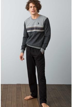 U.S. Polo Assn. Erkek 17511 Pijama Siyah
