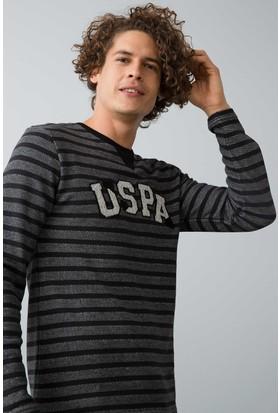 U.S. Polo Assn. Erkek 17558 Pijama Siyah