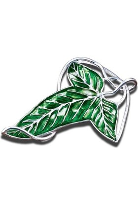 Noble Collection Lord Of The Rings Elven Leaf Broş