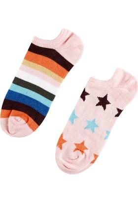 Colin's Pembe Kadın Çorap