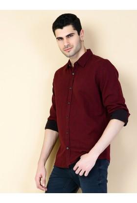 Colin's Mor Erkek Gömlek Uzun Kol