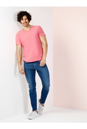 Colin's Pembe Erkek T-Shirt