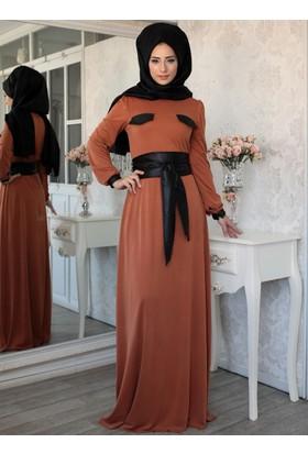 Safran Elbise - Kiremit - Lef`zen