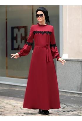 Lady Elbise - Bordo - Selma Sarı Design