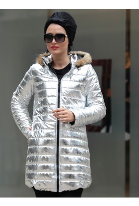 Parlak Mont - Gümüş - Selma Sarı Design