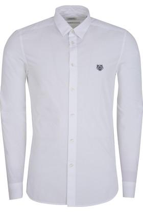 Kenzo Erkek Gömlek Beyaz F765CH2001LA
