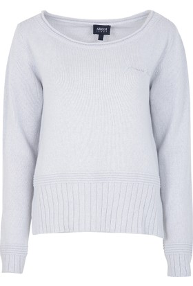 Armani Jeans Kadın Triko Kazak Gri 6Y5M1T5M2HZ