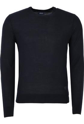 Armani Jeans Erkek Sweatshirt Siyah 6Y6MD86M22Z