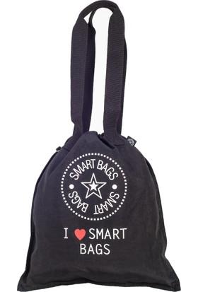 21K Smart Bags İp Askılı Sırt Çantası BRC1129-0001 Siyah