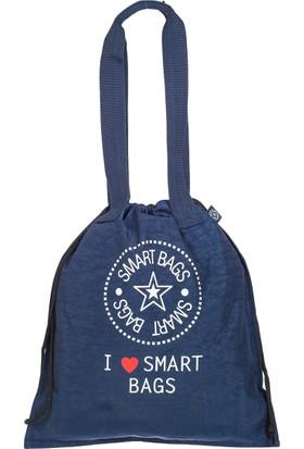 21K Smart Bags İp Askılı Sırt Çantası BRC1129-0033 Lacivert
