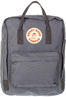 21K Smart Bags Sırt Çantası BRC6371-0078 Gri
