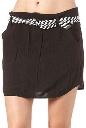 Volcom Cambridge Skirt Blk Kadın Etek