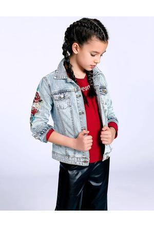 LC Waikiki Kız Çocuk Jean Ceket