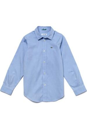 Lacoste Erkek Çocuk Gömlek Mavi CJ2907.T01