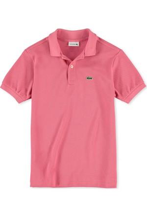 Lacoste Erkek Çocuk Polo T-Shirt Gül Kurusu PJ2909.ZAZ