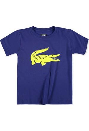 Lacoste Erkek Çocuk T-Shirt Mor TJ2910.QFD