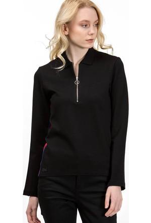 Lacoste Kadın Sweatshirt Siyah DF7788.031