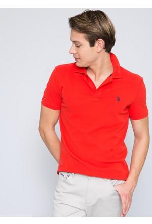 U.S. Polo Assn. Gtp04İy7 T-Shirt Mercan