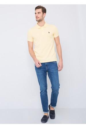 U.S. Polo Assn. Gtp04İy7 T-Shirt Sarı
