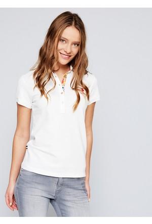 U.S. Polo Assn. Tp01İy07-011 T-Shirt Beyaz