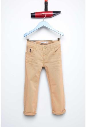 U.S. Polo Assn. Erkek Çocuk Mikekids7S Pantolon Kahverengi