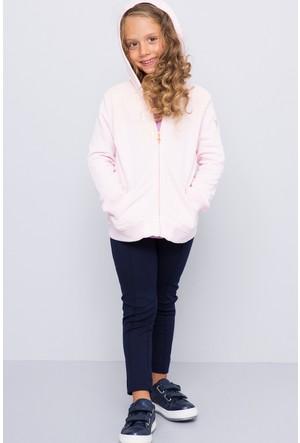 U.S. Polo Assn. Kız Çocuk Sereniti Sweatshirt Pembe