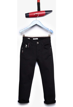 U.S. Polo Assn. Erkek Çocuk Paulakids7S Pantolon Siyah