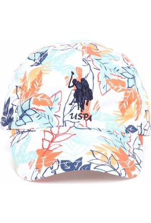 U.S. Polo Assn. Kadın Adina Şapka Beyaz
