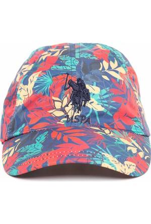 U.S. Polo Assn. Kadın Adina Şapka Mavi
