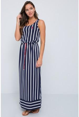 U.S. Polo Assn. Kadın Guer Elbise Lacivert