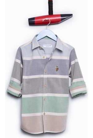 U.S. Polo Assn. Erkek Çocuk Dierkids Gömlek Yeşil