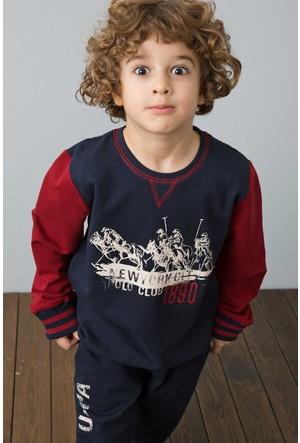 U.S. Polo Assn. Erkek Çocuk US116-1 Pijama Lacivert