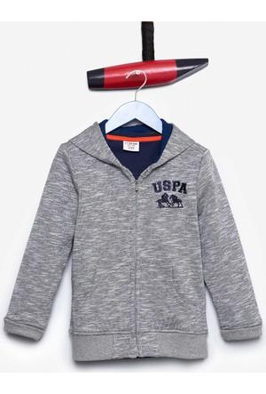U.S. Polo Assn. Erkek Çocuk Jamiro Sweatshirt Gri
