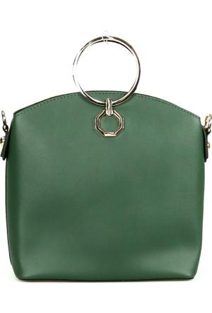 Santa Polo 2222 Bayan El Çantası Yeşil