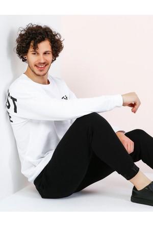 Colin's Beyaz Erkek Sweatshirt