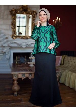 Lale Etek - Siyah - Muslima Wear