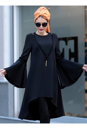 Prenses Tunik - Siyah - Selma Sarı Design