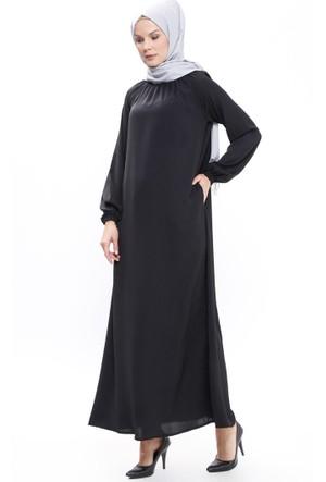 Hamile Elbise - Siyah - ModaNaz