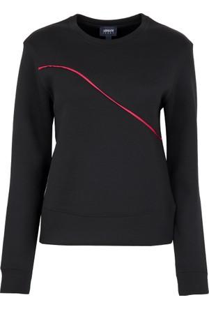 Armani Jeans Kadın Sweatshirt Siyah 6Y5M095JBBZ