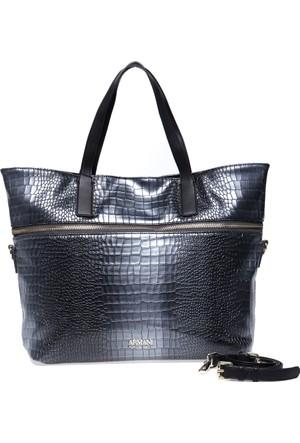 Armani Jeans Kadın Çanta Gümüş 9222907A806