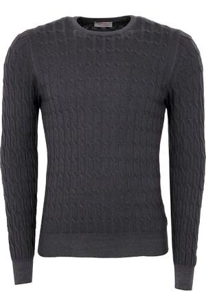 Gran Sasso Erkek Sweatshirt Füme 5719022735